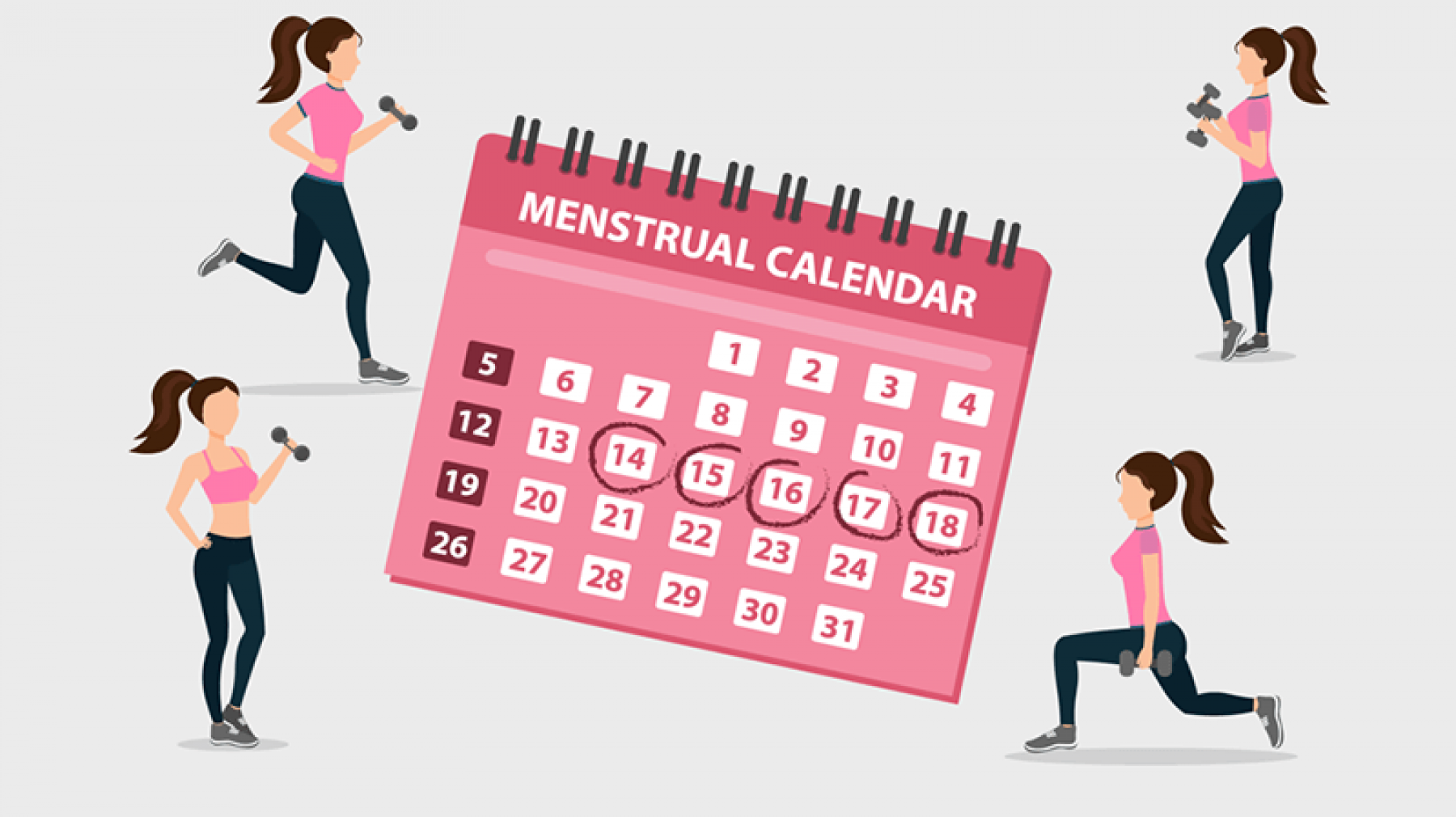 How your menstrual cycle can impact your training and fitness | Xtra-Fit |  Personal Training in Wandsworth SW London